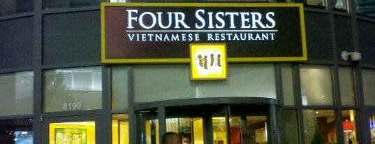 Four Sisters is one of Pho for Fairfax.