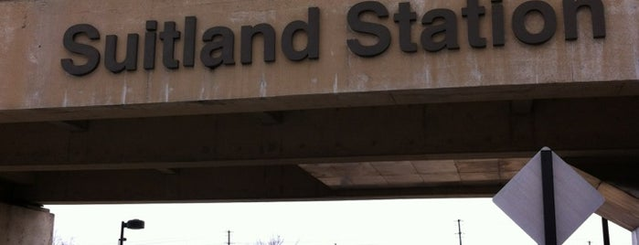 Suitland Metro (Kiss & Ride) is one of Mine.