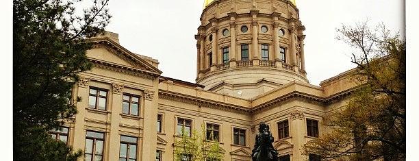 Georgia State Capitol is one of Atlanta.