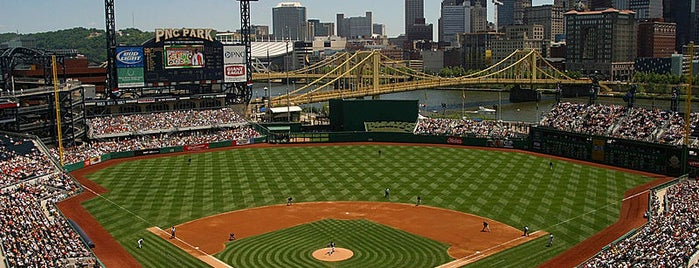 PNC Park is one of HISTORY's tips.