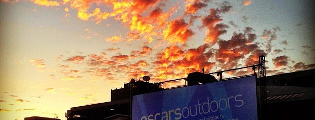 Oscars Outdoors (Academy Hollywood) is one of My Favorite Places.