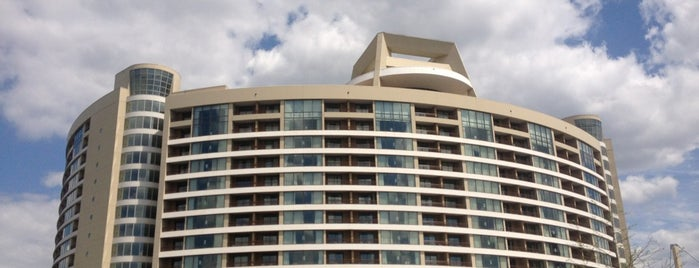 Bay Lake Tower at Disney's Contemporary Resort is one of Disney Spots.