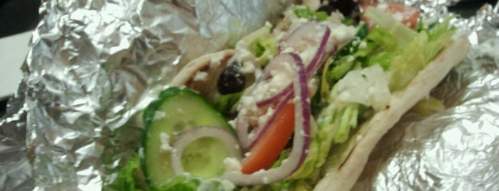 My Big Fat Greek Truck is one of St. Louis food trucks.