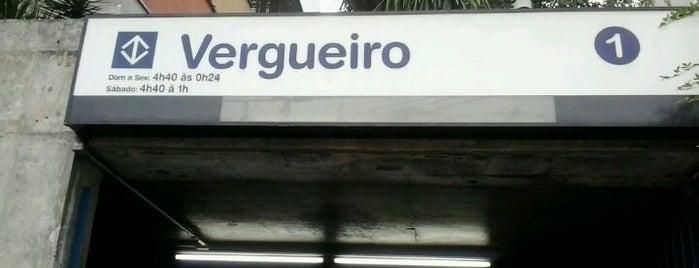 Estação Vergueiro (Metrô) is one of Transporte.