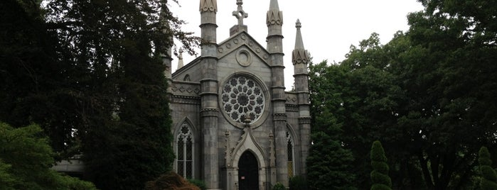 Mount Auburn Cemetery is one of BOS.