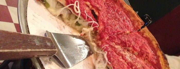 Giordano's is one of Emily's Chicago.