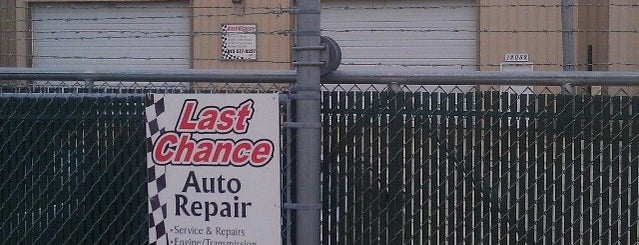Last Chance Auto Repair For Cars Trucks is one of Naperville, IL.