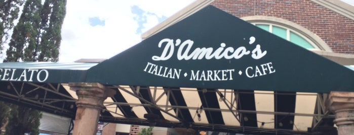 D'Amico's Italian Market Cafe is one of Places I Love.