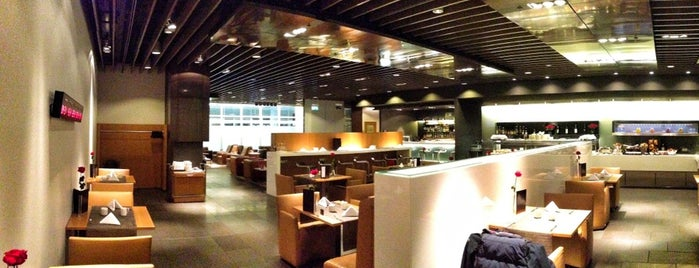 Lufthansa First Class Lounge is one of Airports.