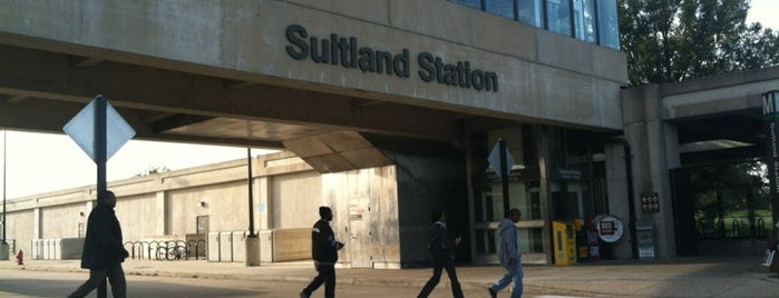 Suitland Metro Station is one of WMATA Train Stations.