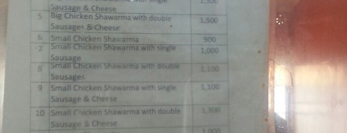 Shawarma King is one of Must-visit Food in Abuja.