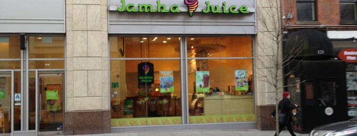 Jamba Juice is one of chilling.
