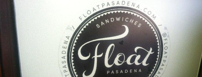 Float is one of Pasadena.