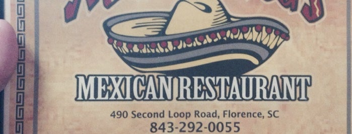 Mexican Restaurant Radio Rd Florence Sc