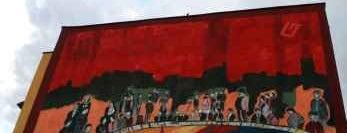 Piotr Szwabe vel Pisz, Monumental Art 2009 is one of Murale Gdańsk Zaspa.