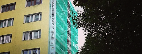 Maciej Salamon, Monumental Art 2014 is one of Murale Gdańsk Zaspa.