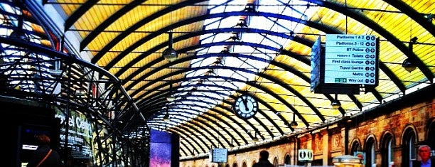 Newcastle Central Railway Station (NCL) is one of Summer in London/été à Londres.