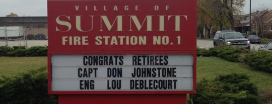 Summit Fire Department is one of favorites.