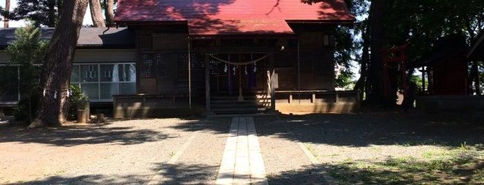 高松神社 is one of Shinto shrine in Morioka.