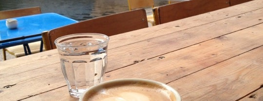 Towpath Cafe is one of Hackney Coffee, yeah!.
