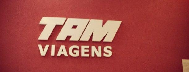 TAM Viagens is one of Pontos de carona.