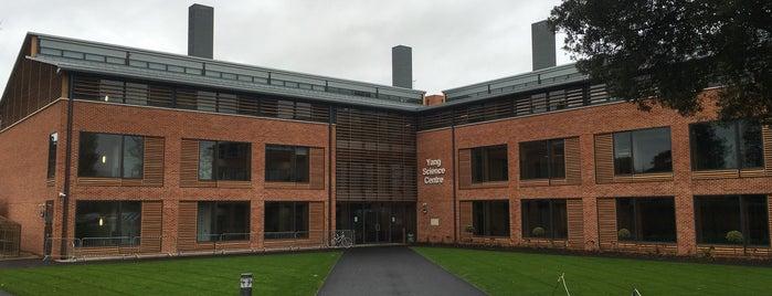 Abingdon School is one of Radiohead's Oxford.