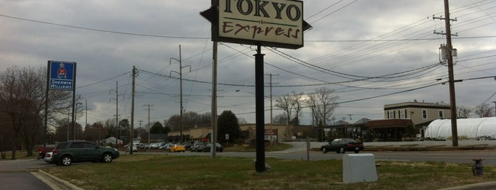 Tokyo Express is one of Favorite Fast Foods.