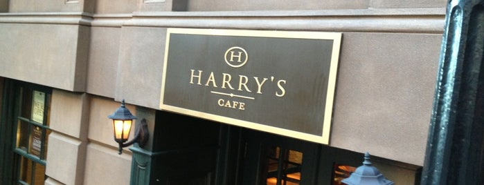 Harry's Cafe and Steak is one of vagabond weekend.