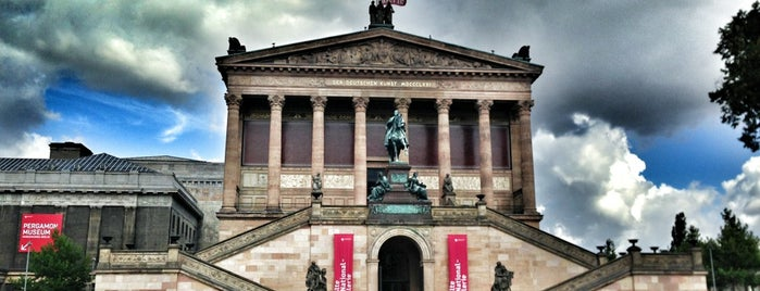 Alte Nationalgalerie is one of things to do in Berlin.