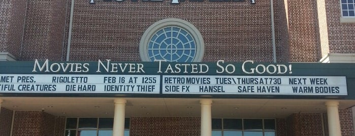 Movie Tavern is one of Top 10 favorites places in Williamsburg, VA.