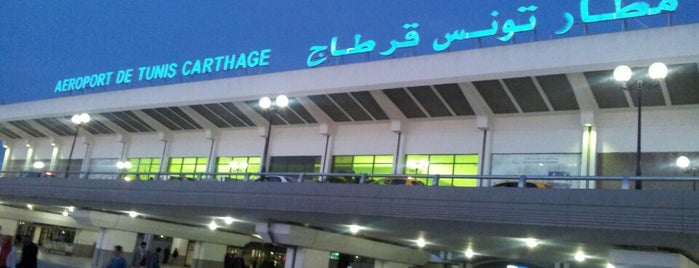 Tunis–Carthage International Airport I Aéroport International de Tunis-Carthage | مطار تونس قرطاج الدولي (TUN) is one of Airports of the World.