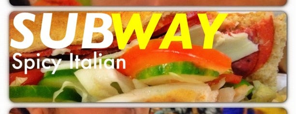 Subway is one of Restaurants.