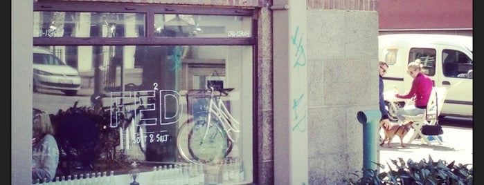 Café Feed is one of Must-visit Cafés in Malmö.
