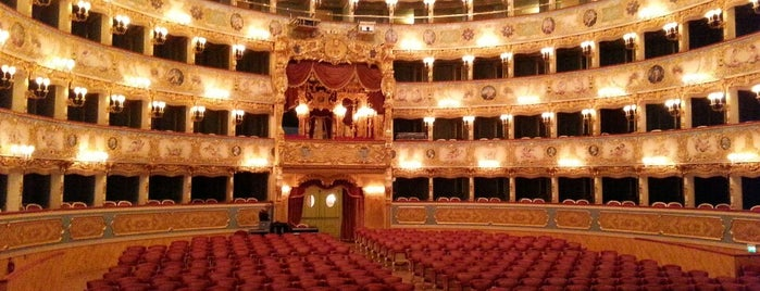 Teatro La Fenice is one of Venezia sights.