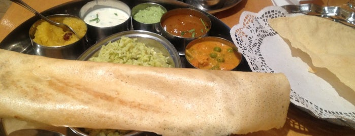 Sagar Vegetarian is one of Trying food from different countries in London.
