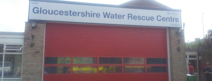Gloucestershire Water Rescue Centre is one of Glos Fire & Rescue.
