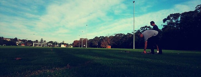 Pittwater Rugby Park is one of Soccer.