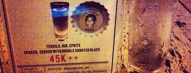 Beer Garden is one of Octoberfest 2011.