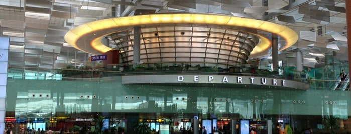 Changi Airport Terminal 3 is one of Business Stops.