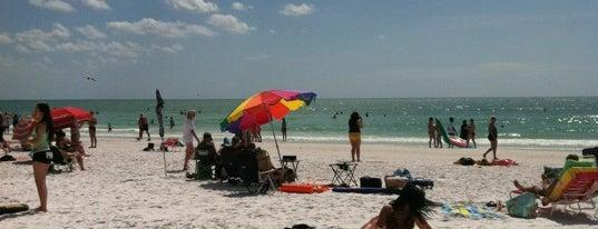 Siesta Key Beach is one of Sarasota #4sqCities.