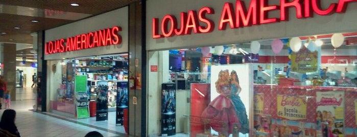 Lojas Americanas is one of Beiramar Shopping.