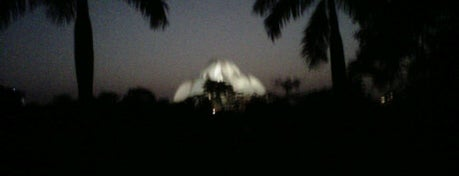 Lotus Temple (Bahá'í House of Worship) is one of Top 10 favorites places in New Delhi, India.