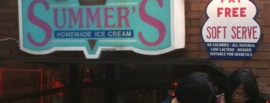 Summer's Homemade Ice Cream is one of The 'B' List - Very Good in Toronto.