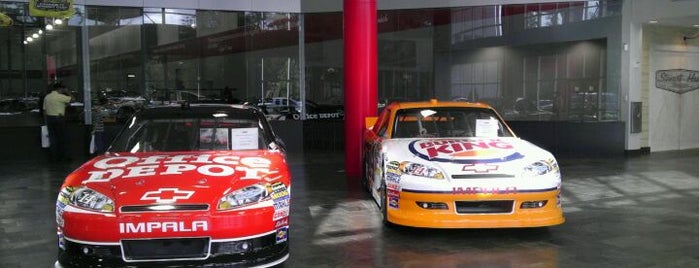 Stewart Haas Racing is one of Musts...Charlotte, NC.