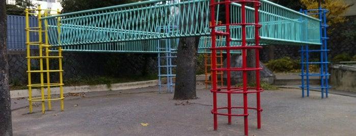 牛込弁天公園 is one of 公園.