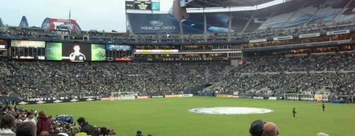 CenturyLink Field is one of Badges | Partners type.