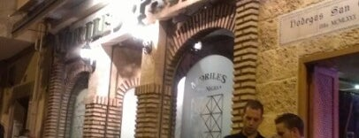 Mesón Moriles Pata Negra is one of 101 cosas que ver en Andalucía antes de morir.