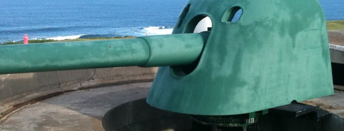 Fort Scratchley is one of NSW Historic Sites.