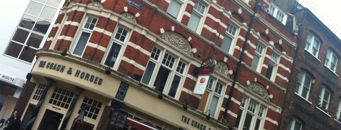 Coach & Horses is one of London.