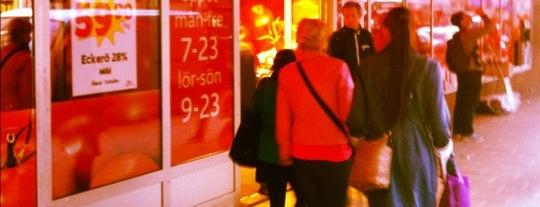 ICA Supermarket Medborgarplatsen is one of All-time favorites in Sweden.